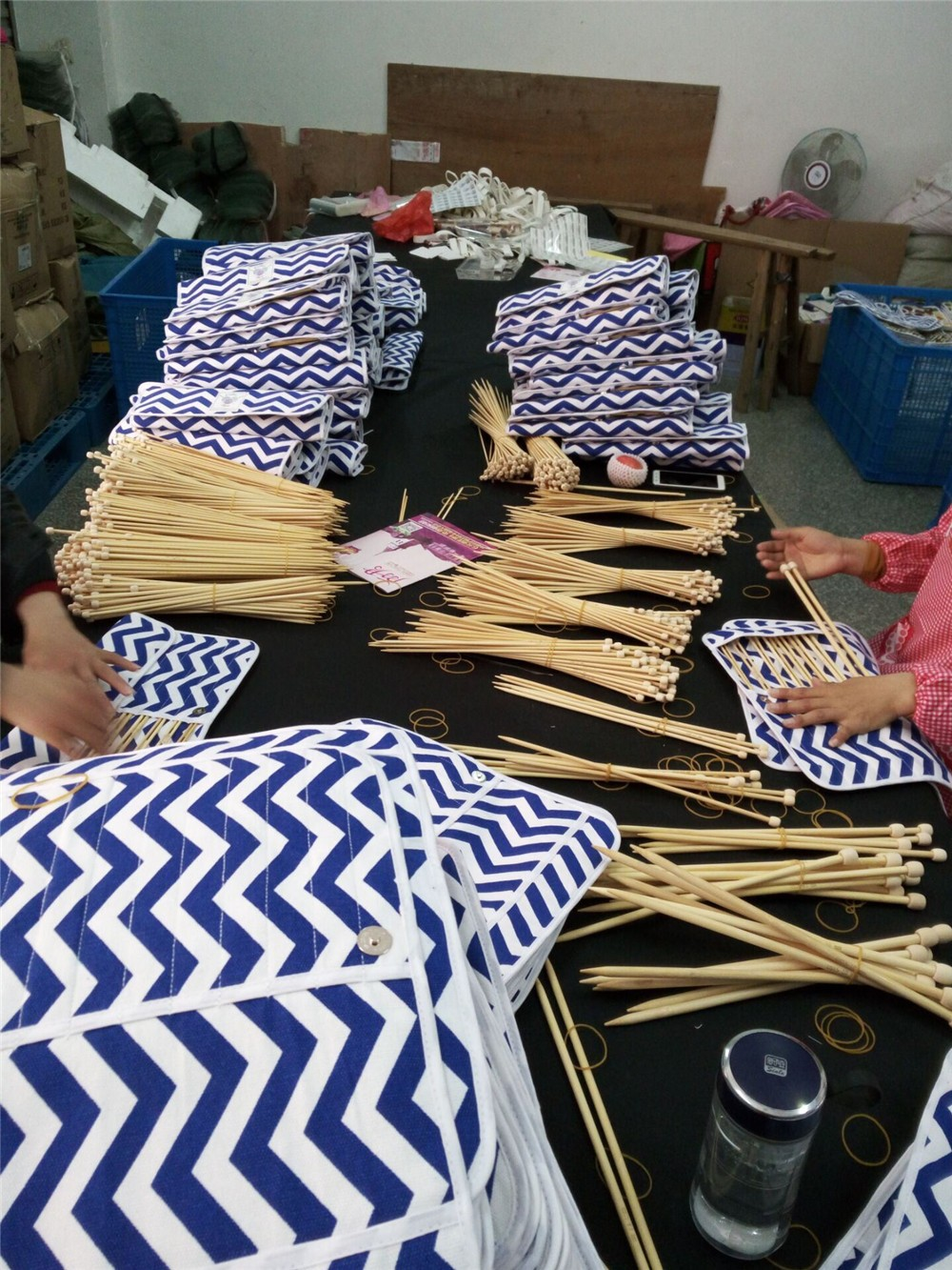Wholesale natural bamboo knitting needles for knitting , singal pointed bamboo knitting needle,custom knitting needles set