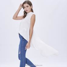 Fashion party white leisure women tailcoat tailcoat loose blouse