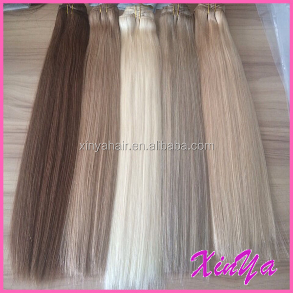 Best Wholesale Hair Weave Distributors virgin double drawn human hair extensions