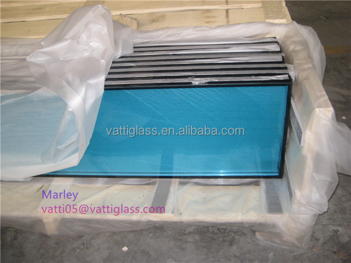 Energy lighting resistant vacuum tempered insulated glass