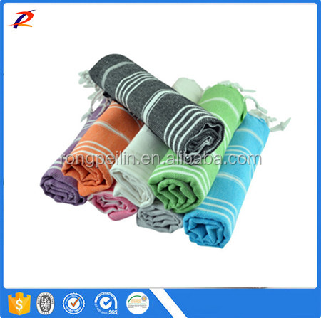 Wholesale Turkish round beach Towel from shandong tex