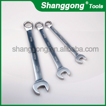 stainless steel combination spanner wrenchs