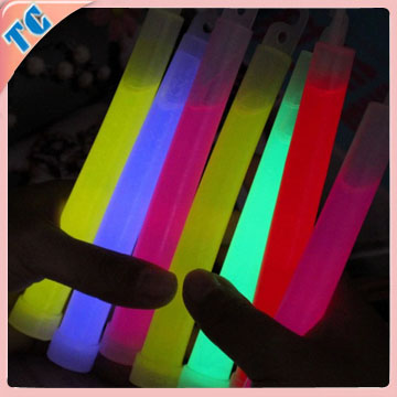 6 inch glow stick glow in the dark products CE,ROHS certificates approval