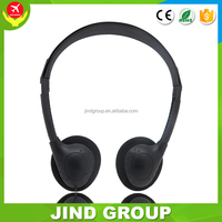 Model JIND-857 2016 Cheap disposable Aviation headset headphone