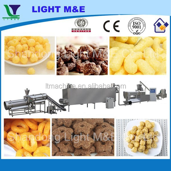 Automatic Industrial Shandong Light Crispy Puff Rice Machine