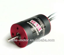 ST 2435 rc brushless motor water cooled for hobby rc boat