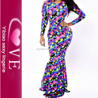 trendy dress patterns cocktail full length party wear long tail dress