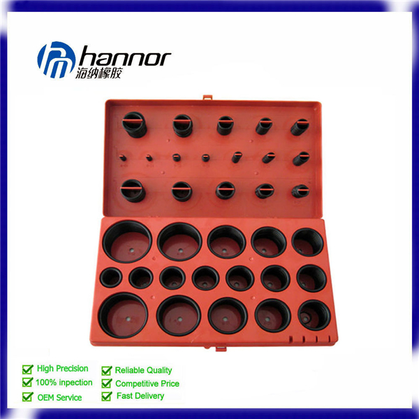 Best Selling O ring Assorted Hardware Silicone O Ring Kits Box