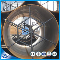 carbon steel 720mm spiral welded pipes for steel spiral corrugated pipe