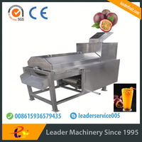 Leader widely used passion fruit peeling and squeezing machine with CE&ISO certifications