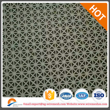 pvc coated aluminum perforated wire mesh sheet