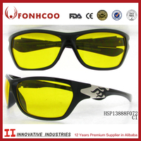 FONHCOO Low Price Plastic Black Colored Wholesale Cheap Bike Sport Sunglasses