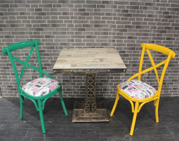 Modern cafe chair and table for restaurant for sale