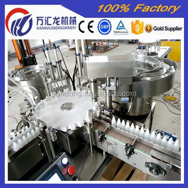 Trade Assurance CE Approval E Cigarette Plastic Bottle Making Machine with High Precision