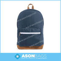 Day Backpacks Leather Bottom