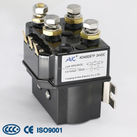 DC Contactor for Motor Reversing Winch Relay, Continuous to 100A Short Time Duty 400A 48V Winch Relay^