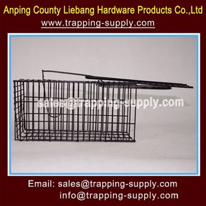 Small Animal Live Capture Cage Box Trap Alive Mole Rodent Mouse Rat Trap Cage
