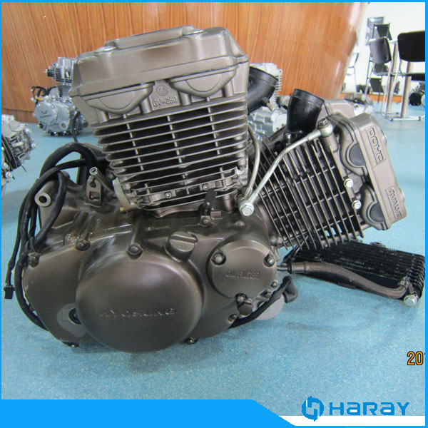 Zongshen Chinese Racing 250cc V-Twin Motorcycle Engine