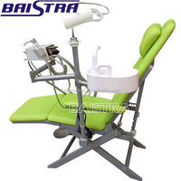 Portable Folding dental chair unit with Turbine