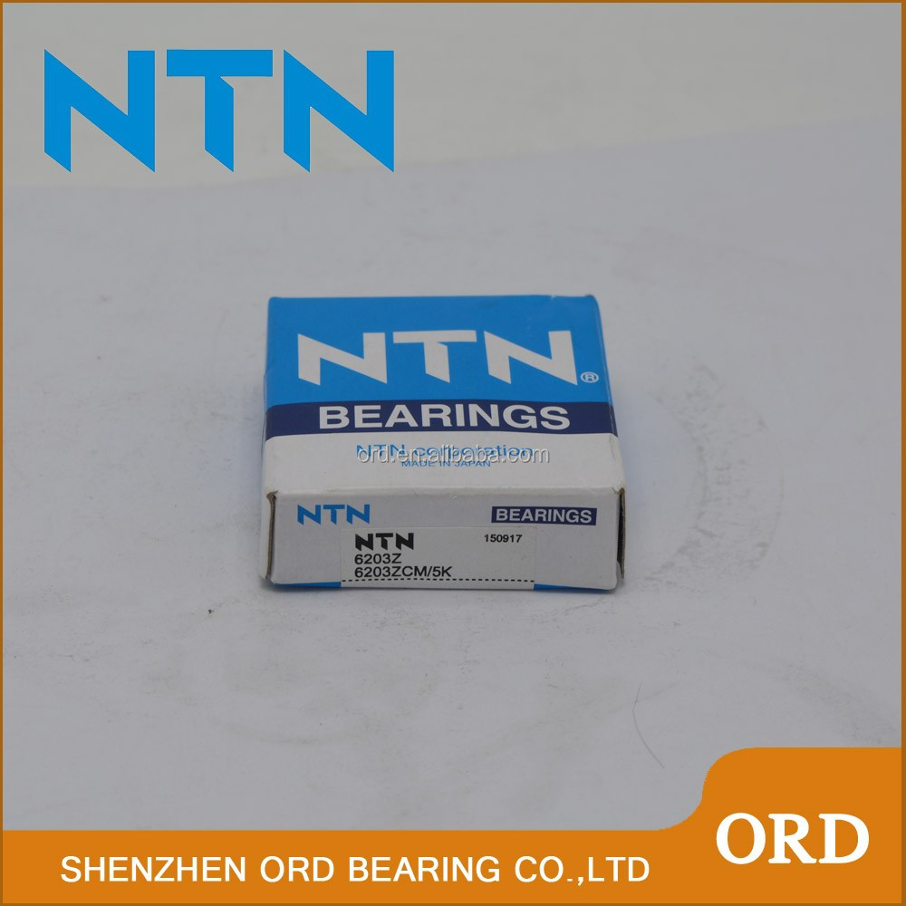 High quality NTN 6200 Deep groove ball bearing for Automotive accessories