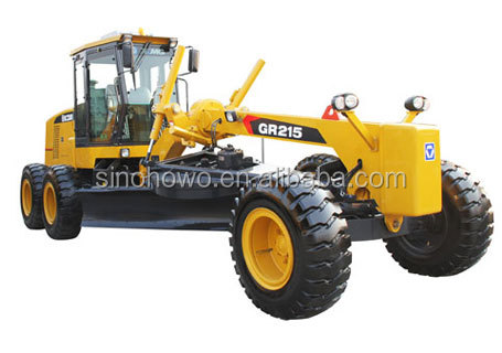 Construction Machinery Motor Grader GR215 With Latest Technology