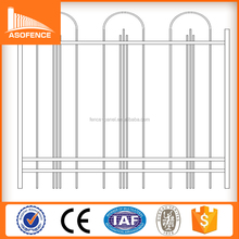 Factory Wholesale high quality steel tubular fencing / Port Fence