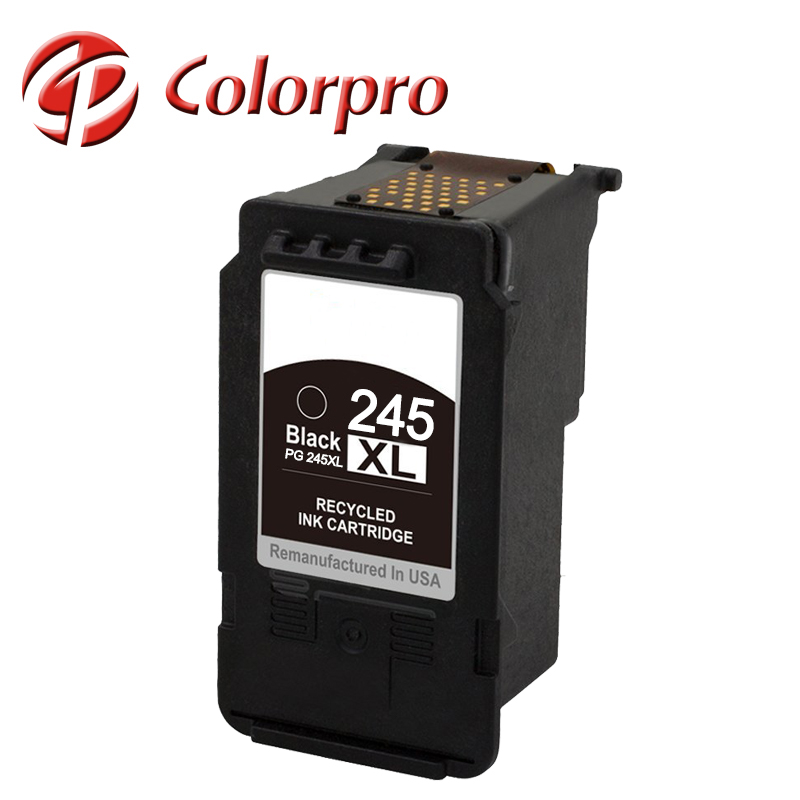 Remanufactured chip reset ink cartridges for canon pg 245 CL246 for canon MX492, PIXMA MG2420, PIXMA MG2520