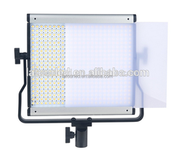 Bi-color tv studio lighting for led television weather, newsroom professional video led continuous lighting JYLED-500S