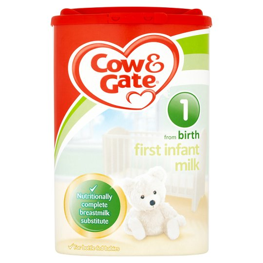 Cow & Gate Infant Milk Powder for Hungrier Babies from Newborn Stage 2 (900g)