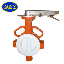 KEFA High quality Tomoe electric actuator butterfly valve dn200