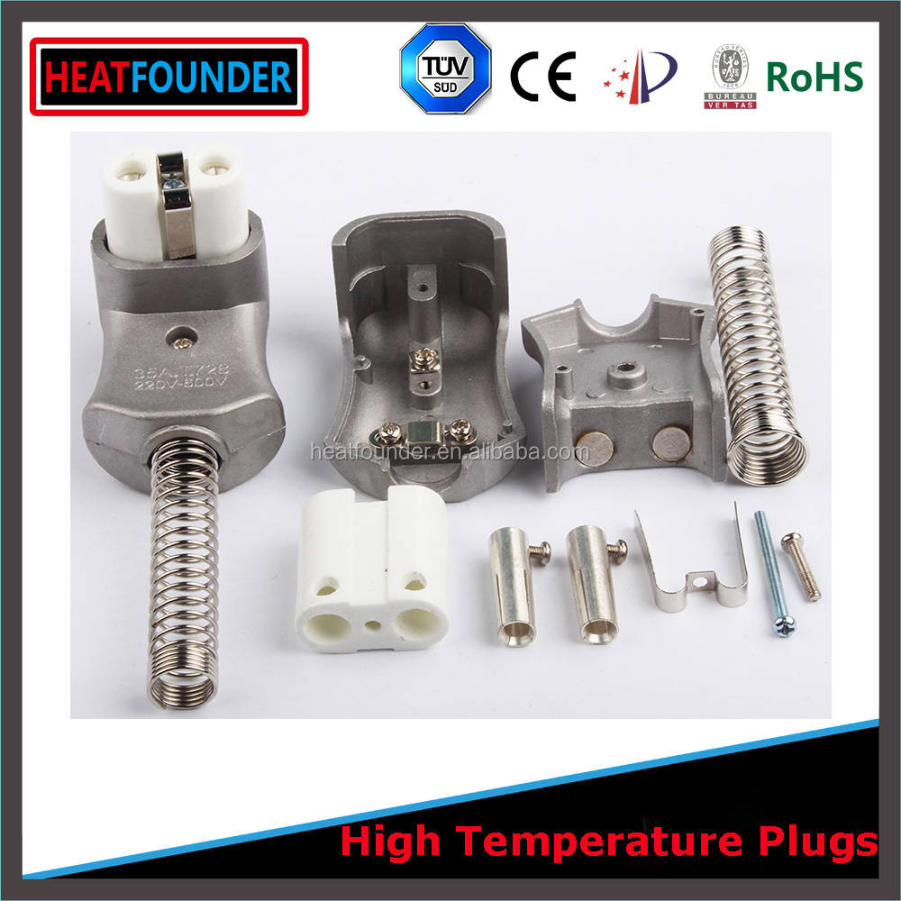 CE approved high quality industrial quick disconnect <strong>electric</strong> long working life ceramic plug