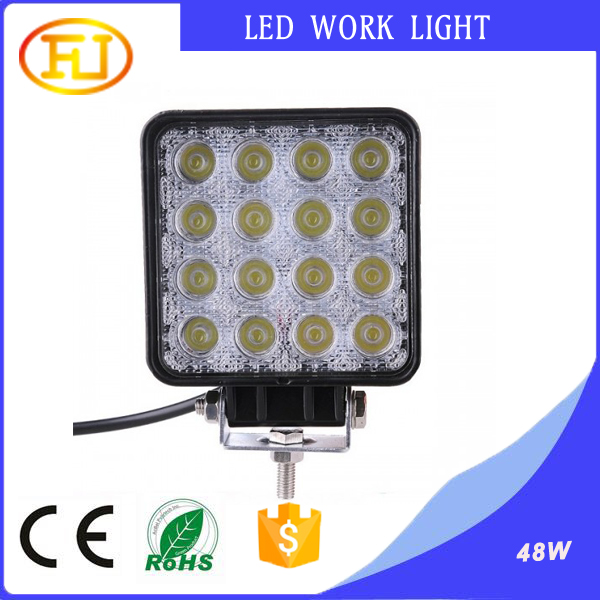 48w Flood Led Off Road Work Light Lamp 5000 lumen led work light,Truck Led Work Lights,Off Road Auto Led Work Lights