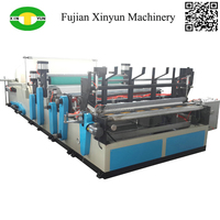 Perforated automatic log saw small toilet roll machine