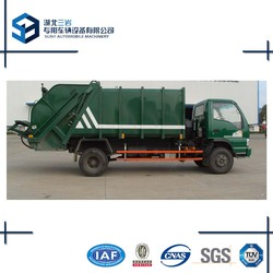 FAW 4x2 5m3-8m3 compactor garbage trucks 2axles 180hp