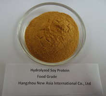 Soya Protein Hydrolysate 100% Water Soluble Food Grade Protein 50% Molecular Weight Below 1000Dal 85%