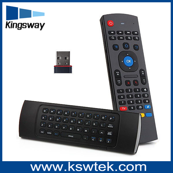 MX3 2.4g air mouse remote control