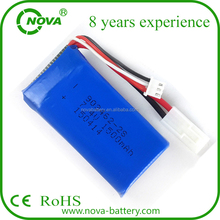 903462 25c li-po battery 7.4v 1500mah rc helicopter battery for rc car