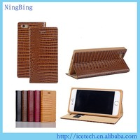 High quality Vintage Style flip pu leather cover 3d flash case for iphone 5