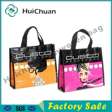 Fashion recycled polypropylene lady tote bag