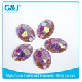 GuoJie brand new arrival high quality flatback DK11#16 light purple and factory custom resin stone
