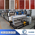 Most popular wood plastic composite machine manufacturer
