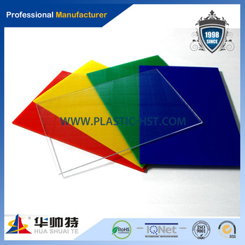 Colored acrylic sheets/dichroic acrylic sheet, View double sided ...