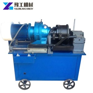 High Quality Steel Rebar Connect Taper Threaded Coupler Rolling Machine