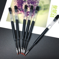 New products smoth writing pen refill for replace Parker gel ink pen refills