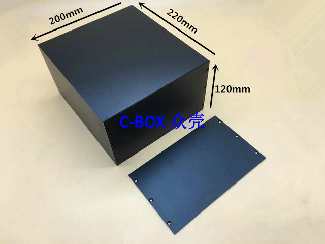 zk-6044 / 120*200*220mm aluminum shell large metal power box controller case junction cabinet