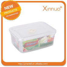 High quality Popular custom Safe Square Fresh Keeper Food container