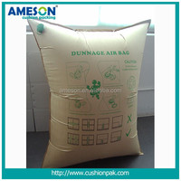 2016 New Design Transparent Kraft Paper Dunnage Air Bag