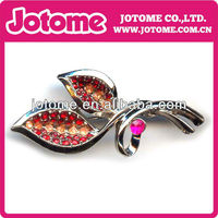 China Wholesale fashion Dollar brooch pin, rhinestone brooch for costume