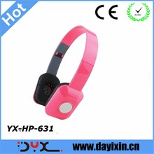 Free Sample Wired Headsets Cheap Price Headphones Headphone