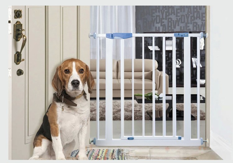 CE standard outdoor dog iron baby fence with extension rod
